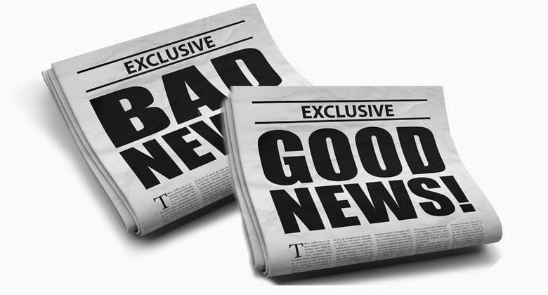 Mana yang Lebih Banyak Anda Dengar? Kabar Baik atau Kabar Buruk?