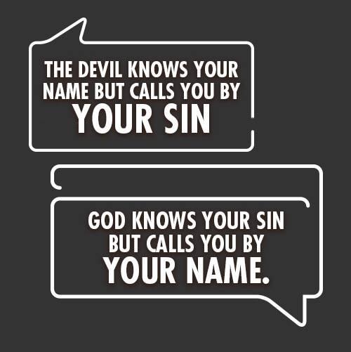 Yesus Memanggilmu dengan Namamu, Bukan Dosamu!