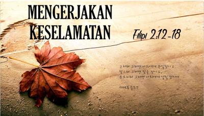 Kabar Baik tentang Mengerjakan Keselamatan